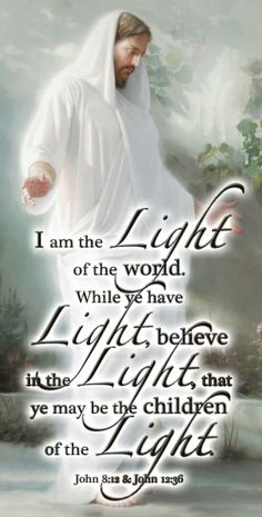 He is the True Light...